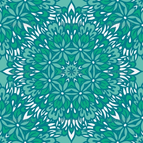 GraphicRiver Arabesque Seamless Pattern 8756671