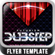 Futurism Dubstep Flyer Template - GraphicRiver Item for Sale