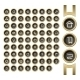 Golden Interface Buttons - GraphicRiver Item for Sale
