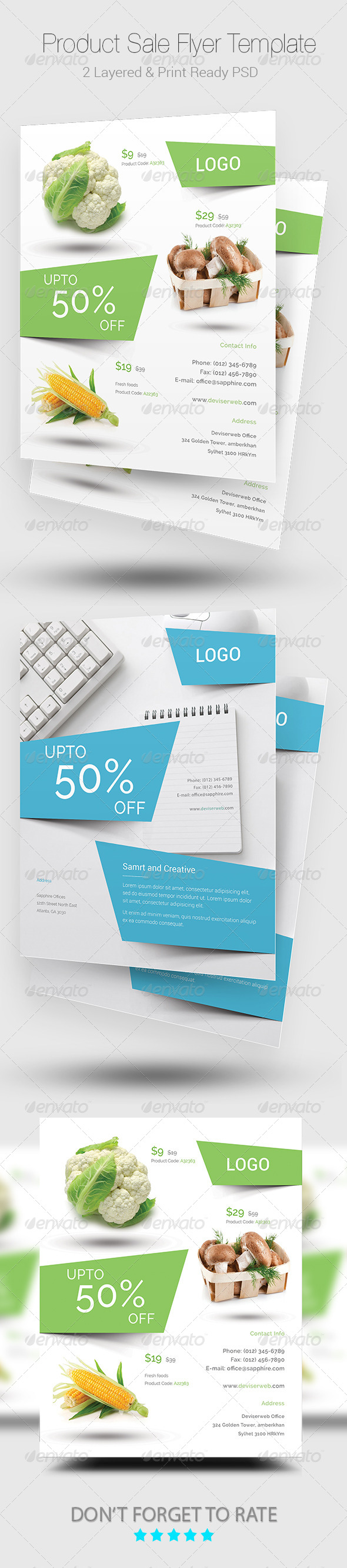 GraphicRiver Product Sale Flyer Templates 8756814