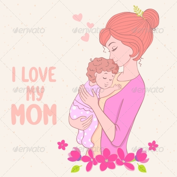 GraphicRiver Mom Love 8756859