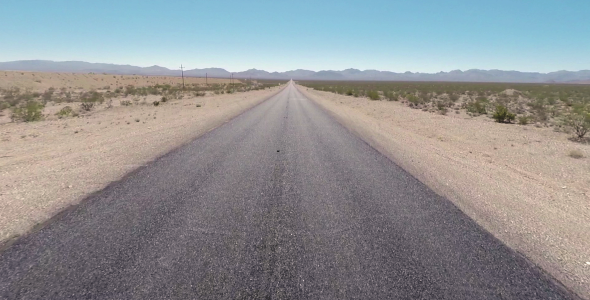 Desert Road Aerial