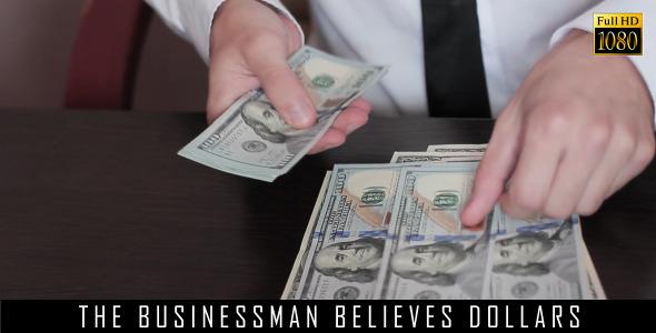 The Businessman Believes Dollars 12