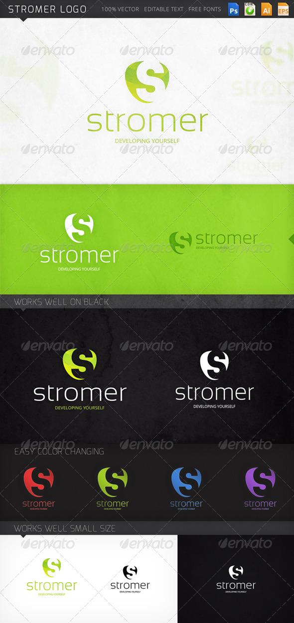 GraphicRiver Stromer Logo 8757109