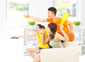 young people so excited to yelling and while watching tv at home - PhotoDune Item for Sale