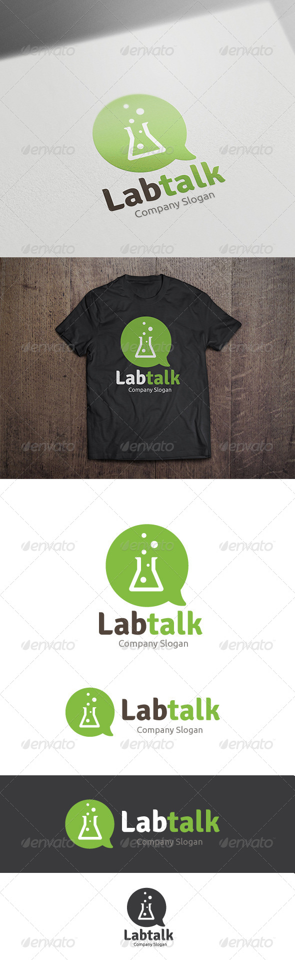 GraphicRiver Lab Talk 8757327