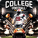 College Football Flyer Template v.2 - GraphicRiver Item for Sale