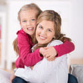Happy Mother With Young Daughter - PhotoDune Item for Sale