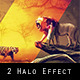 2 Halo Effect Photoshop Actions - GraphicRiver Item for Sale