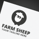 Farm Sheep Logo - GraphicRiver Item for Sale
