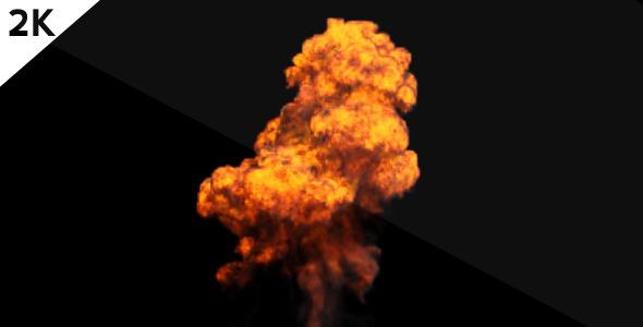 Huge Explosion 2K