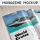 Magazine Mock-Up Set - 2 - GraphicRiver Item for Sale