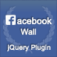 jQuery Facebook Wall - CodeCanyon Item for Sale