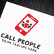 Call People Logo Template - GraphicRiver Item for Sale