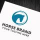 Horse Brand Logo Template - GraphicRiver Item for Sale