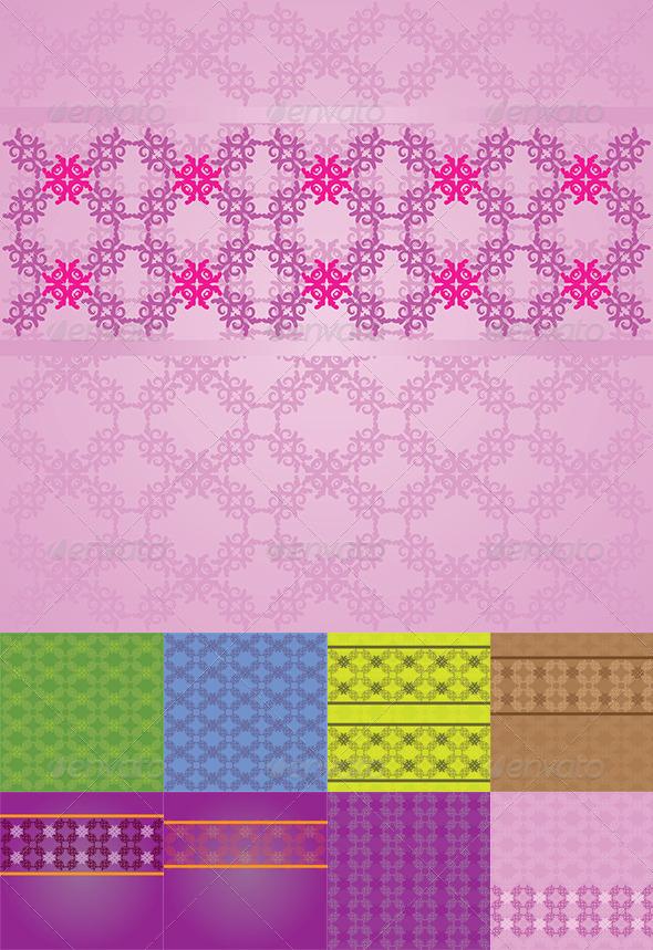 GraphicRiver Vintage Flourish Background 8760207