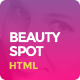 BeautySpot - HTML Template for Beauty Salons - ThemeForest Item for Sale