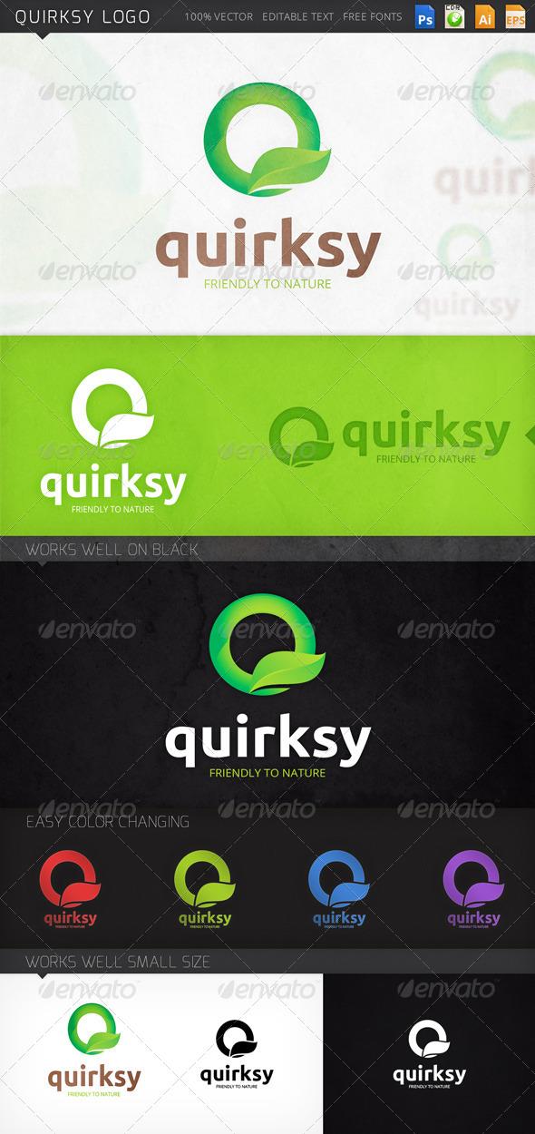 GraphicRiver Quirksy Logo 8761426
