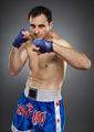 Kickboxer in guard stance - PhotoDune Item for Sale