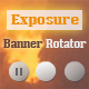 Exposure Banner Rotator - ActiveDen Item for Sale