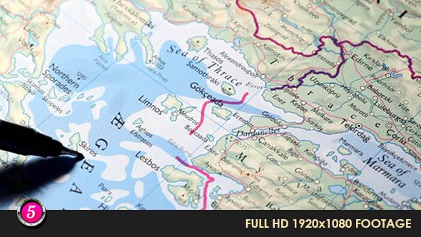 World Map 33