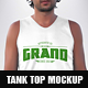 Hipster Tank Top Mockup - GraphicRiver Item for Sale