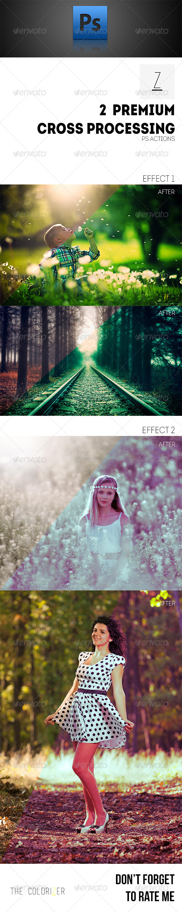 GraphicRiver 2 Premium Cross Processing Actions 8762287