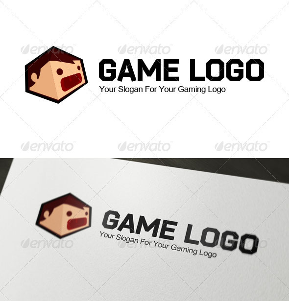 Gaming Logo - 3d Abstract