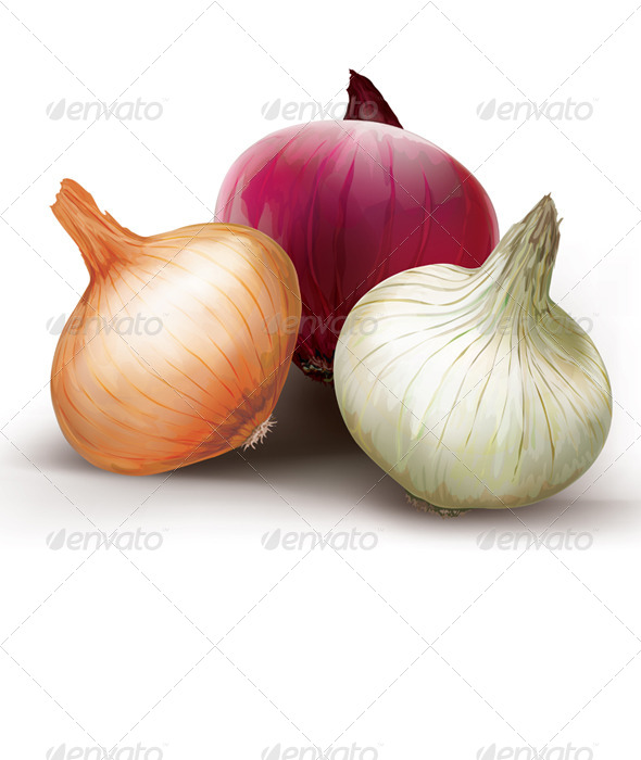 GraphicRiver Onions of Different Colors 8762307