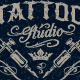 Tattoo Studio Emblems - GraphicRiver Item for Sale