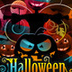 Halloween Annual Scaring Party In Club - GraphicRiver Item for Sale