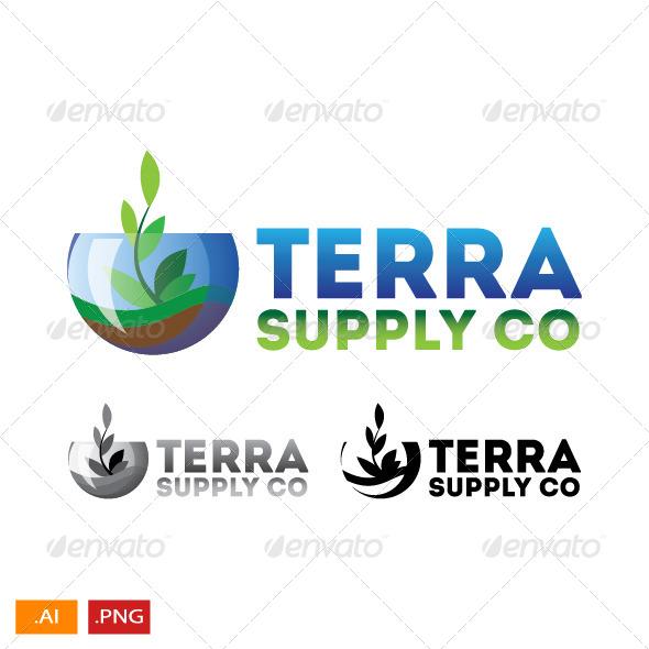GraphicRiver Terra Nature Supply Company 8762559