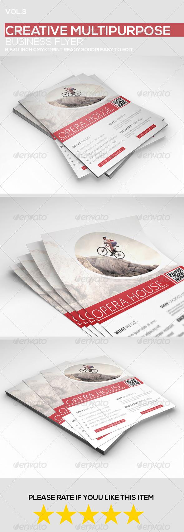 GraphicRiver Creative Multipurpose Business Flyer vol.3 8762978