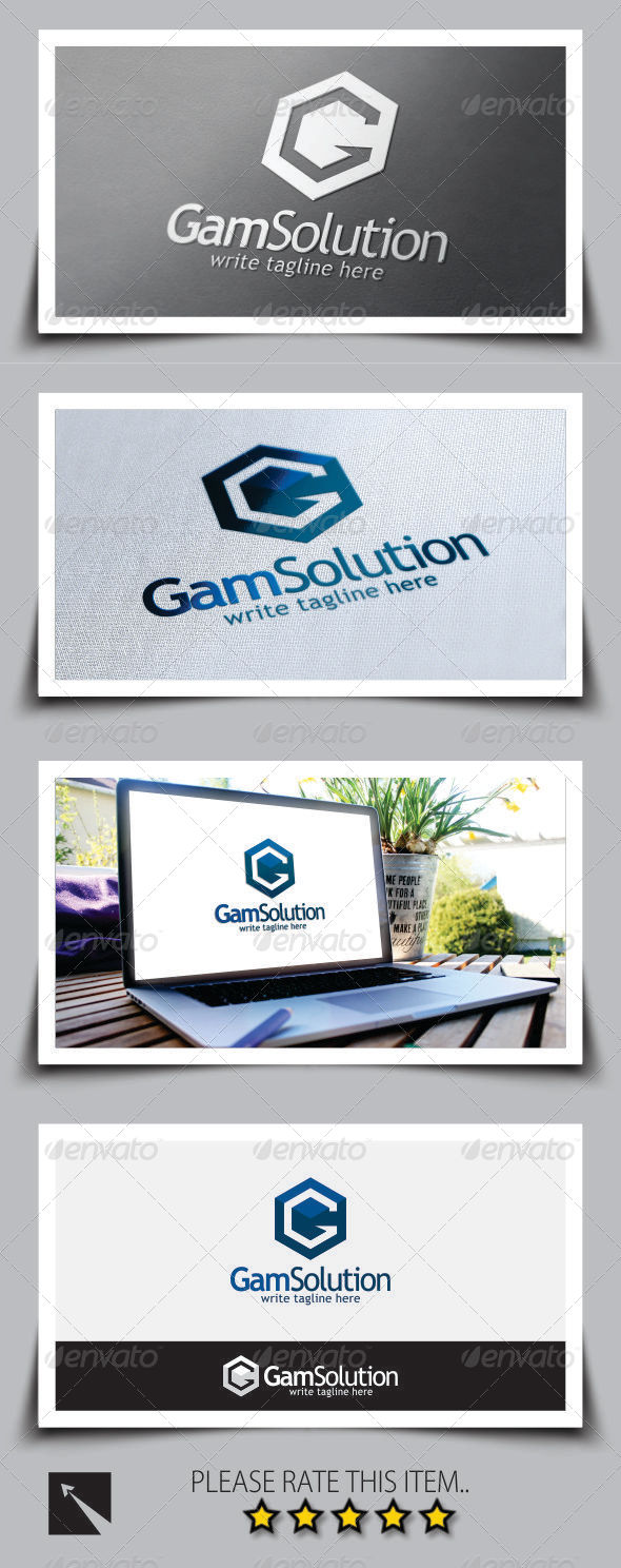 GraphicRiver Letter G Logo Template 8763116