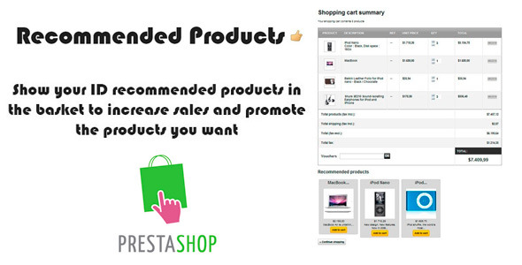 CodeCanyon Prestashop Recommended-Products 8763172