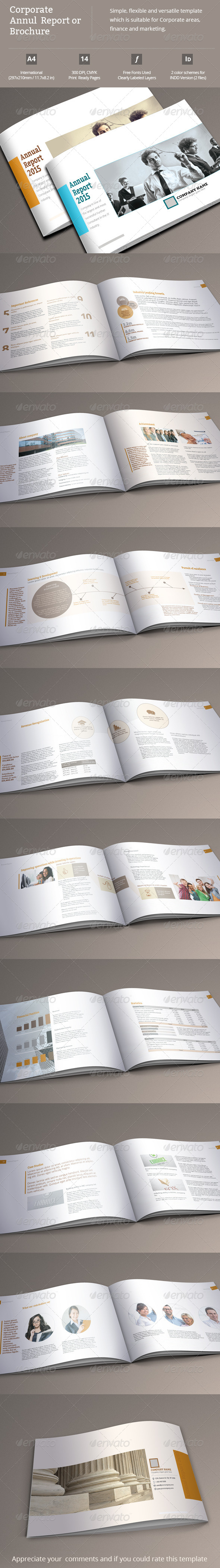 GraphicRiver Corporate Annual Report or Brochure 8763546