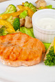 salmon steak - PhotoDune Item for Sale