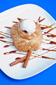 apple strudel with ice cream - PhotoDune Item for Sale