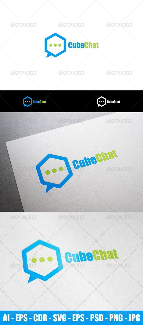GraphicRiver Cube Chat 8727033