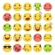 Cartoon Smile Icons Set - GraphicRiver Item for Sale