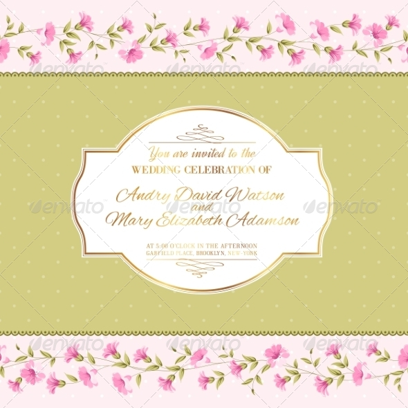 GraphicRiver Luxurious Invitation Card 8765230