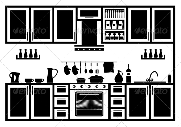 GraphicRiver Icon of Kitchen 8765324