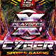 Flyer Cyber Sport Konnekt - GraphicRiver Item for Sale