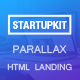Startupkit Responsive Parallax Landing Template - ThemeForest Item for Sale