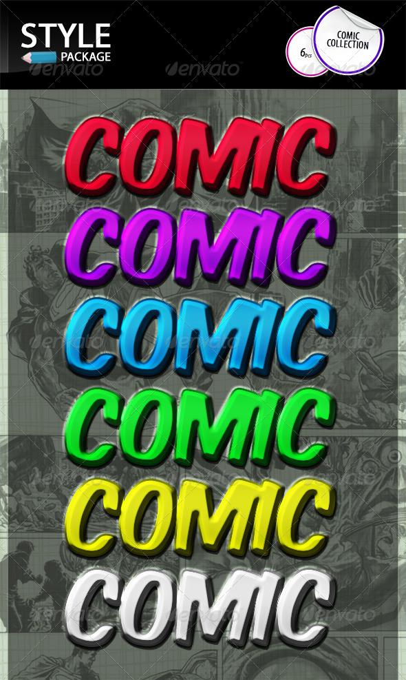 GraphicRiver Comic Styles 8765692