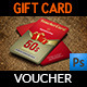 Gift Voucher Card Template Vol.12 - GraphicRiver Item for Sale
