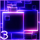 VJ Colourful Dancing Neon Boxes Equalizer Pack - VideoHive Item for Sale