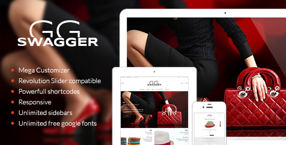 ThemeForest SWAGGER Premium WordPress Online Store 8766075