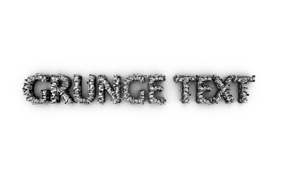 Grunge Text - 3DOcean Item for Sale