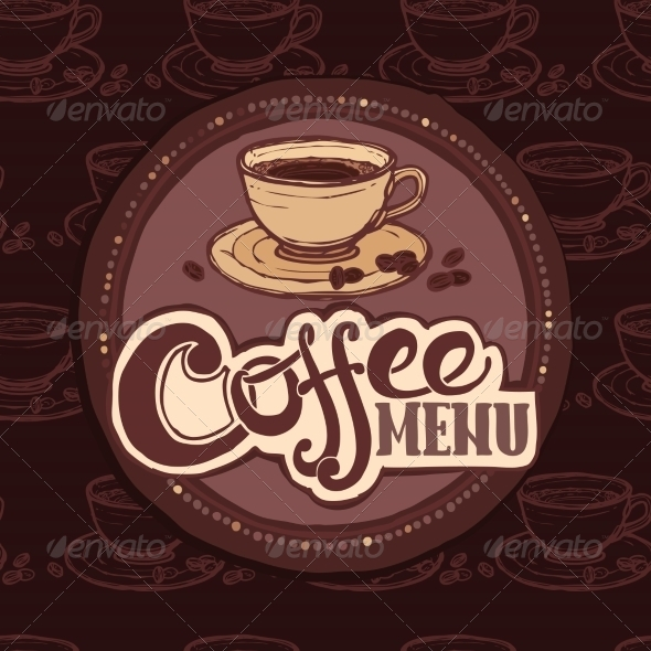 GraphicRiver Restaurant Sketch Menu Template 8766532